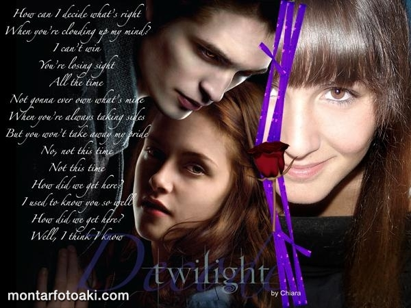 Moldiura Edward e Bella Twilight