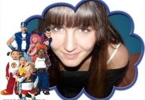 Moldura Lazy Town Personagens