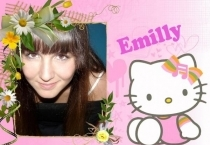 Moldura Hello Kitty Emilly
