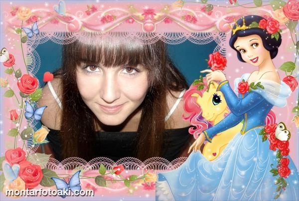 Branca de Neve e My Little Pony