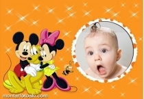 Disney Mickey Mine e Pluto
