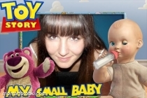 Moldura Toy Story My Small Baby