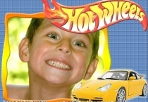 Moldura Hot Wheels Amarelo