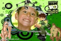 M oldura Aliens do Ben 10